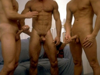 First Circle Jerk with Roommates