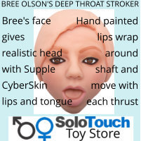BREE OLSONS DEEP THROAT STROKER