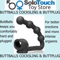 BUTTBALLS SILICONE BLEND COCKSLING