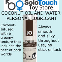 COCONUT OIL AND WATER PERSONAL LUBRICANT